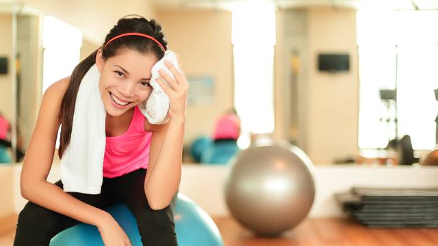 Fitness woman in gym