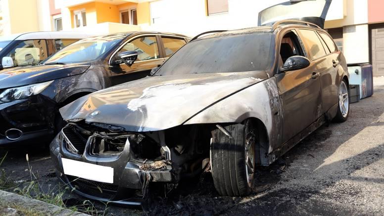 Istraga pokazala: Podmetnut požar pod BMW u Karlovcu