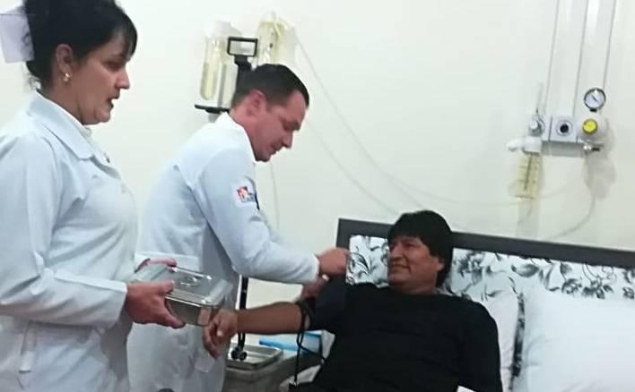 Moralesu operirali manji tumor, javio se iz kreveta: Dobro sam!