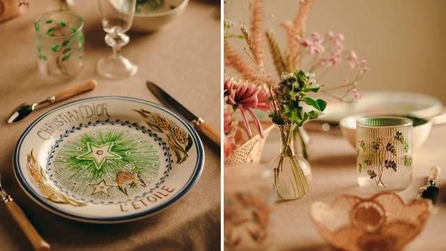 Za 'dame koje ručaju': Dior predstavlja predivan set tanjura, inspiriran Italijom