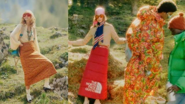 Kad geekovi idu na kampiranje: Gucci napravio pufaste suknje od šarenih vreća za spavanje