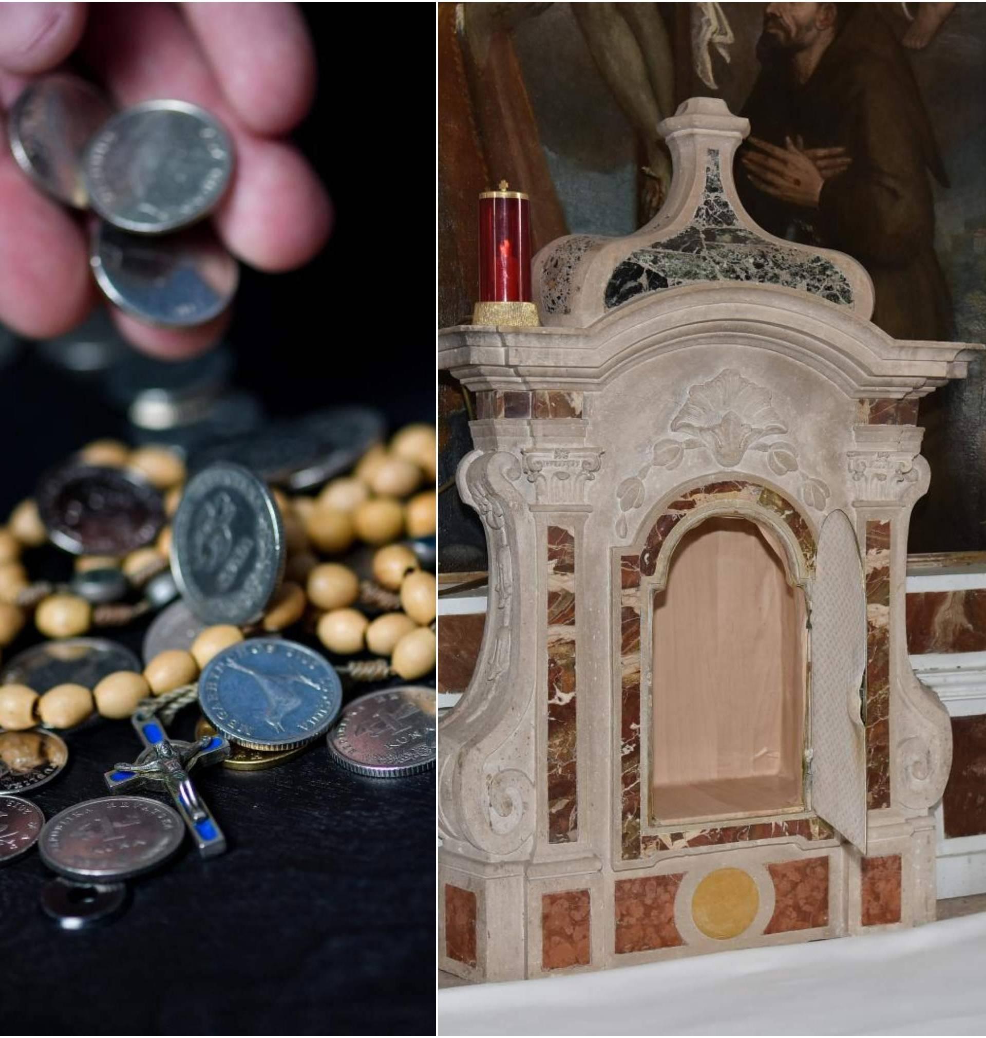 Krade milodare po crkvama, a jednom svećeniku uzeo satove
