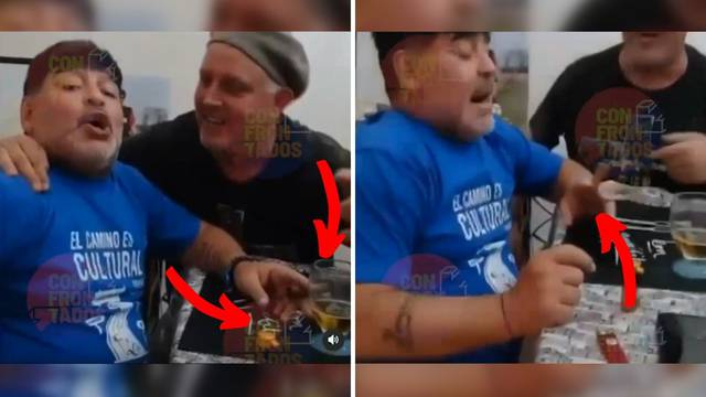 VIDEO: Diego Maradona prije operacije pio i pušio na zabavi?!