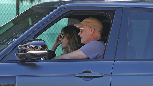 *EXCLUSIVE* Tom Hanks and Rita Wilson are all smiles as they arrive back in LA following CoronaVirus diagnosis