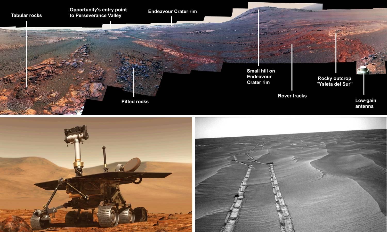 Opportunity za oproštaj poslao prekrasnu fotografiju s Marsa