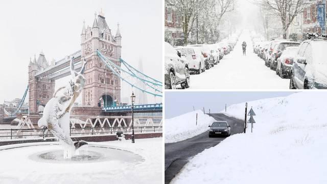 Britanci u strahu od 'ledene zvijeri': Snježni nanosi i niske temperature haraju i Škotskom
