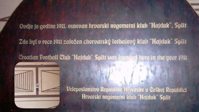 Česi maknuli Hajdukovu ploču iz pivnice: Ha, ipak stižu Boysi