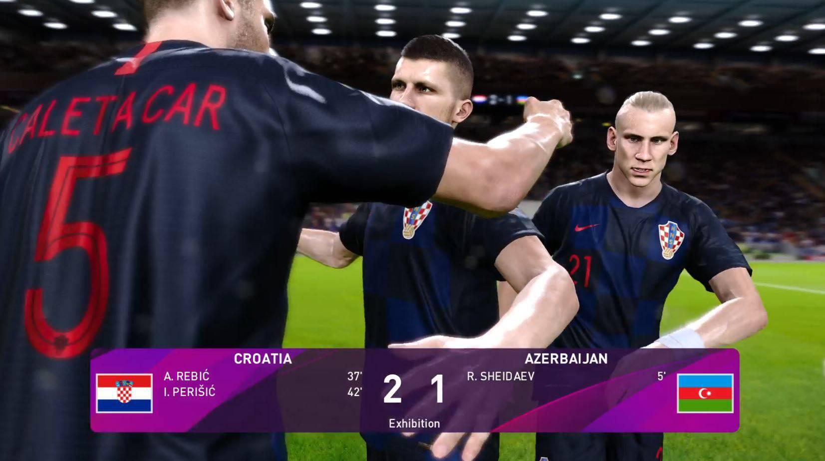Igrali smo PES 2020: Uz novo ime i bizarna postava Hrvatske