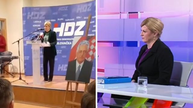 Koli, vidi snimku: Jesi, zvala si birače da biraju pravu Hrvatsku