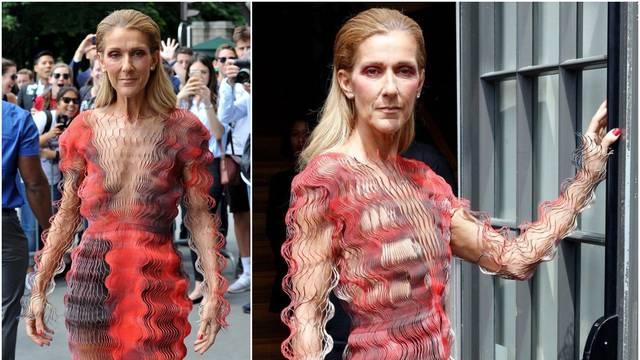 Celine Dion zgrozila izgledom u mrežastoj haljini: 'Ispuhala se'