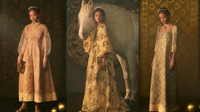 Raskošna Dior kolekcija pod utjecajem serije Bridgerton