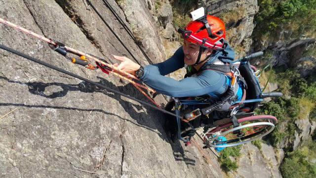 Bez ograničenja: U kolicima se popeo na najviši vrh u zemlji