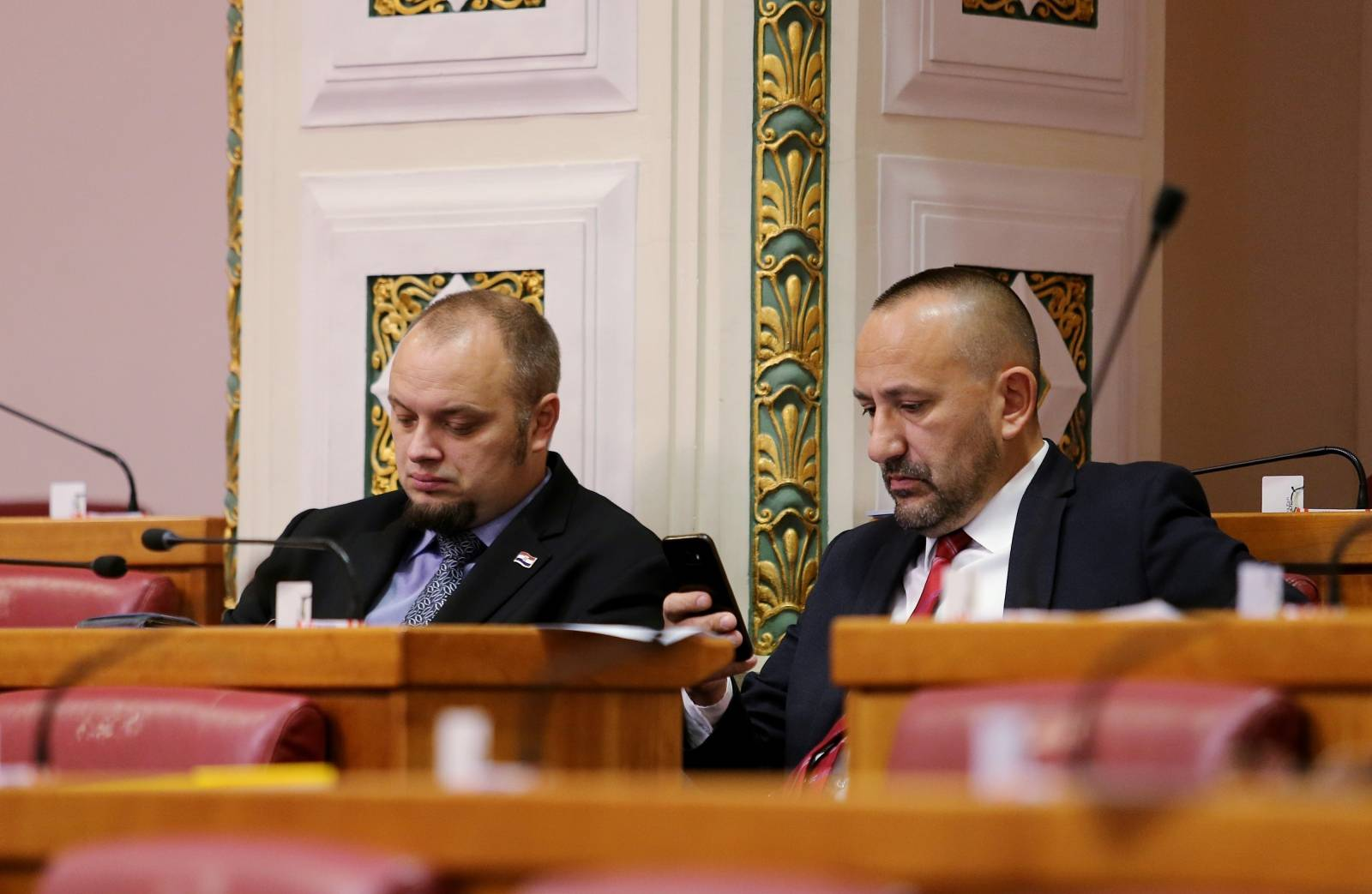 Zagreb: Nastavak 16. sjednice Sabora