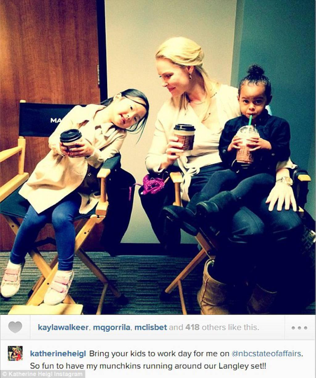 Heigl fotografijom s kćerima pokušava vratiti dobar imidž