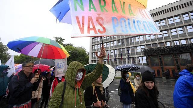 Protest okoljevarstvenikov