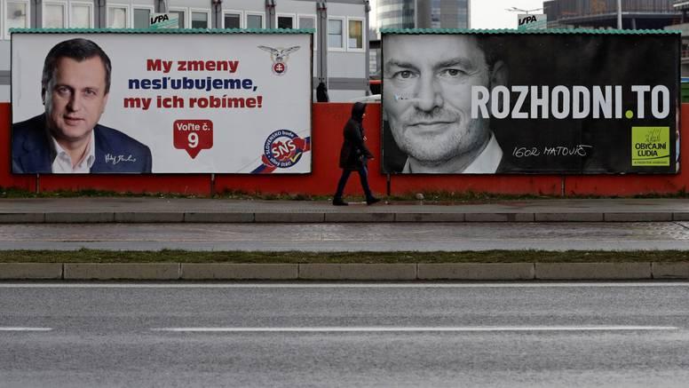 Slovaci na izborima: 'Nadaju se da će se smanjiti korupcija'