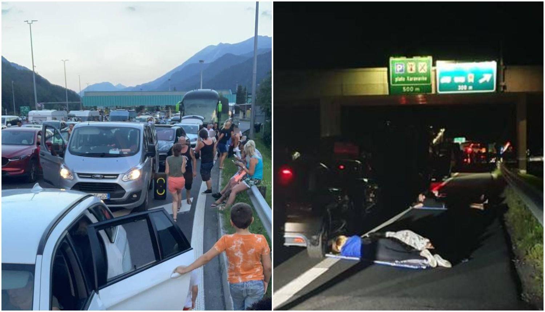 Drama Hrvata na austrijskoj granici: 'Čekamo 10 sati s troje djece, ljudima nestaje hrane'
