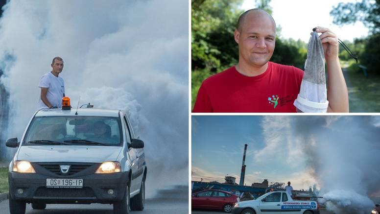 U Osijeku zbog komaraca ni u kafiće ne izlaze: 'Ne možemo više ovako, pa puni smo uboda'