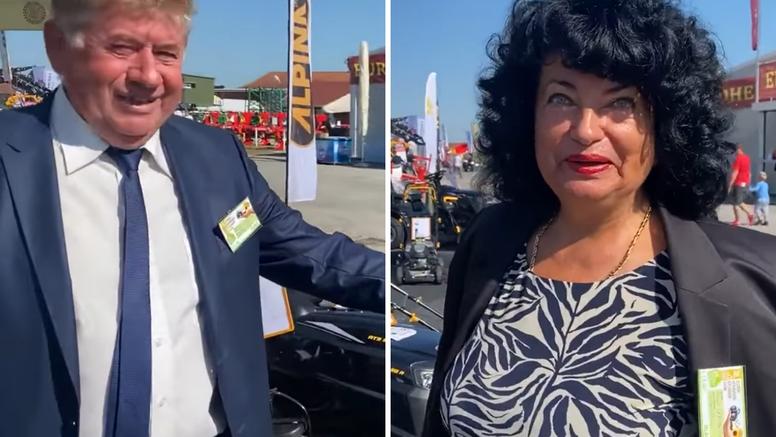Višnja i Zdravko Pevec na sajmu u Gudovcu: 'Povratak otpisanih'