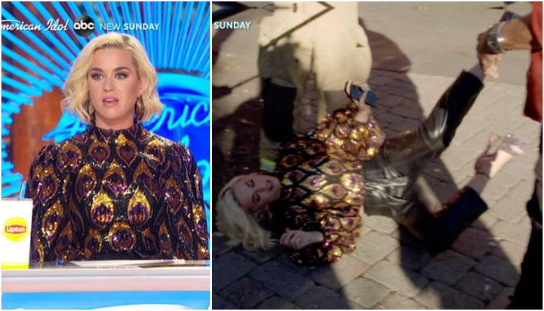 Katy Perry se srušila na pod: Na snimanju je jako curio plin...