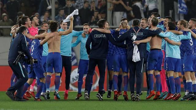 2018 World Cup Qualifications - Europe - Greece vs Croatia