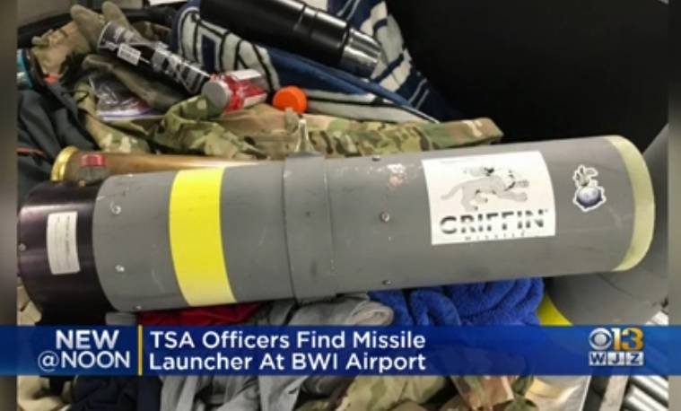 """Amerikanac je u koferu """"kao suvenir"""" ponio raketni bacač"""