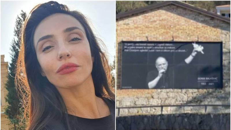 Jovanu Balašević dirnuli plakati u Istri posvećeni njezinom tati...