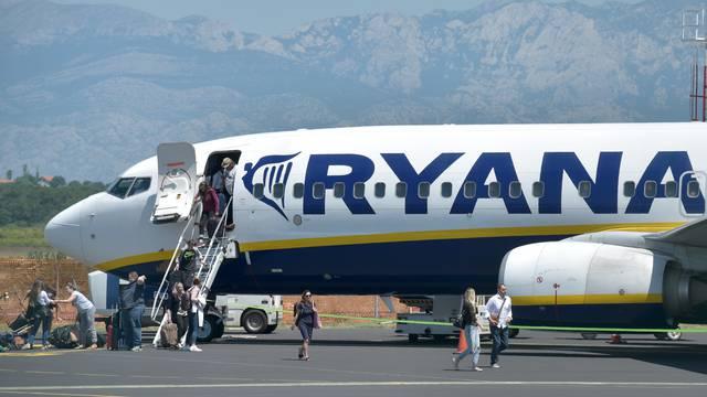 RyanAir u travnju neće letjeti za Zadar iz Londona i Dublina