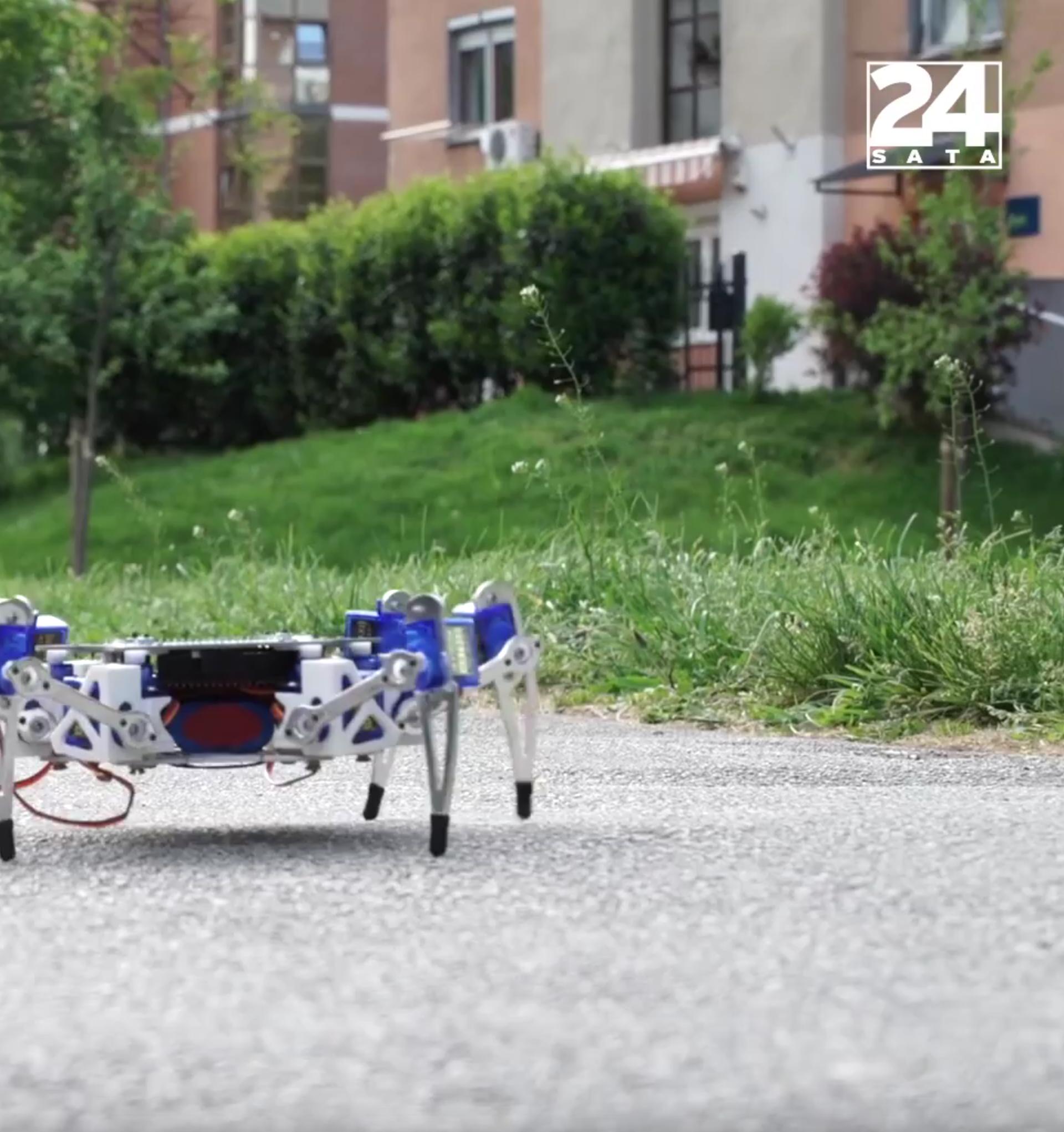 Hrvati pokorili Las Vegas: Naš robot pauk najbolji je na svijetu