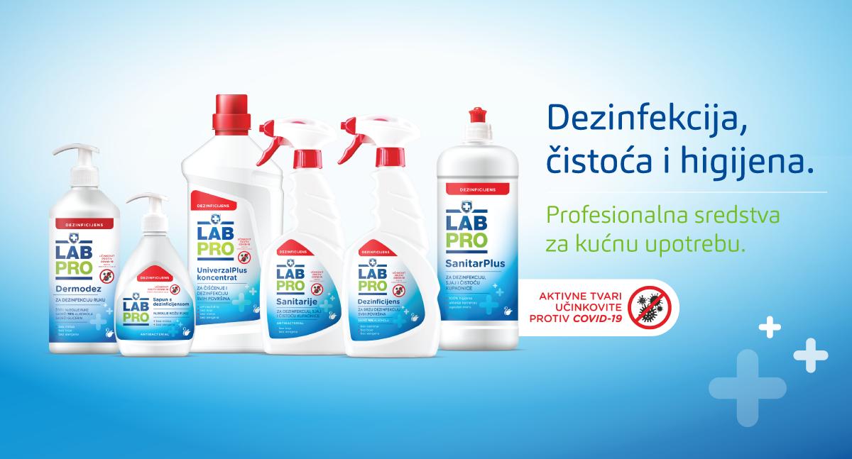 Labud lansirala novu liniju proizvoda za dezinfekciju doma