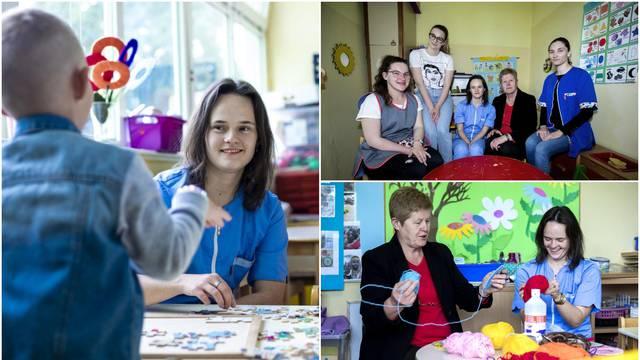 Matea (20) s Down sindromom počela raditi u vrtiću: 'Djeca mi se vesele, pokazuju mi crteže'