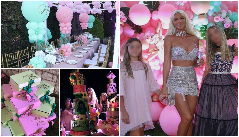 Karleuša ne štedi na kćerima: Akrobati, brdo poklona i torti