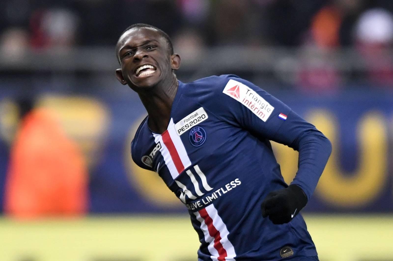 """Demi-finale de la Coupe de la Ligue 2019-2020 """"Reims - PSG (0-3)"""" au Stade Auguste-Delaune à Reims"""