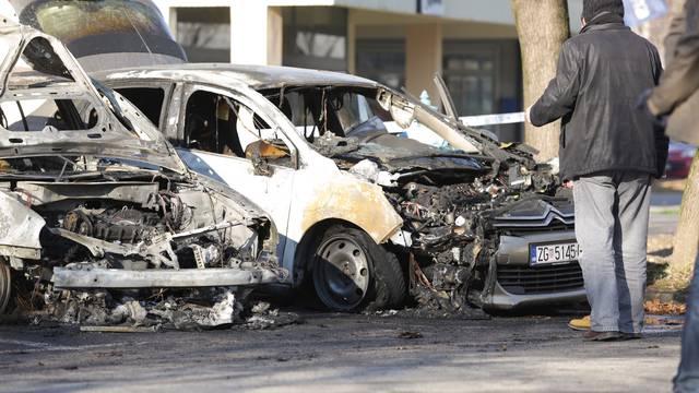 Video: Šefu sigurnosti Dinama izgorio automobil na Vrbanima