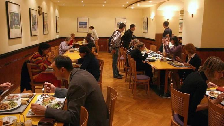 Obrok za ljude na Baniji košta 23 kune. Cijeli ručak u Saboru, s juhom i desertom - 26 kuna