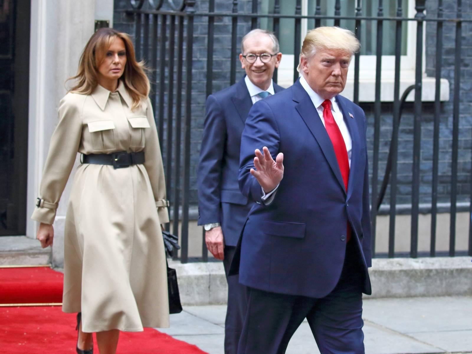 US President Donald Trump State visit
