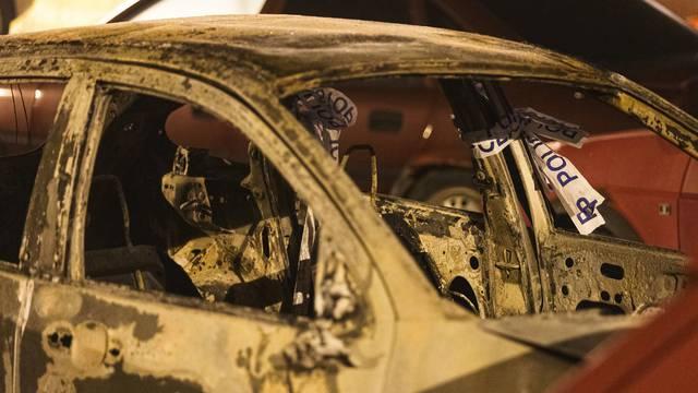 Policija u zapaljenom automobilu u Trnovcu pronašla karbonizirano ljudsko tijelo
