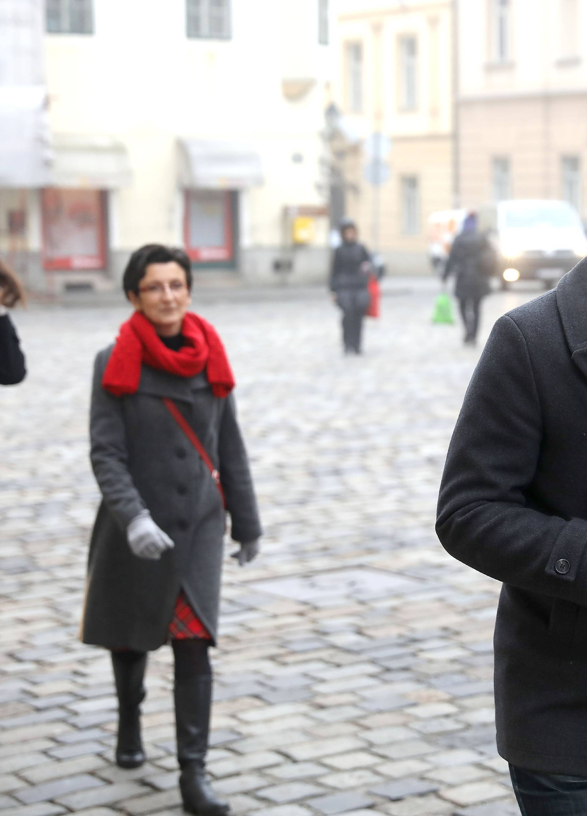 Zagreb: Udruga U ime obitelji na Trgu svetog Marga obratila se medijima