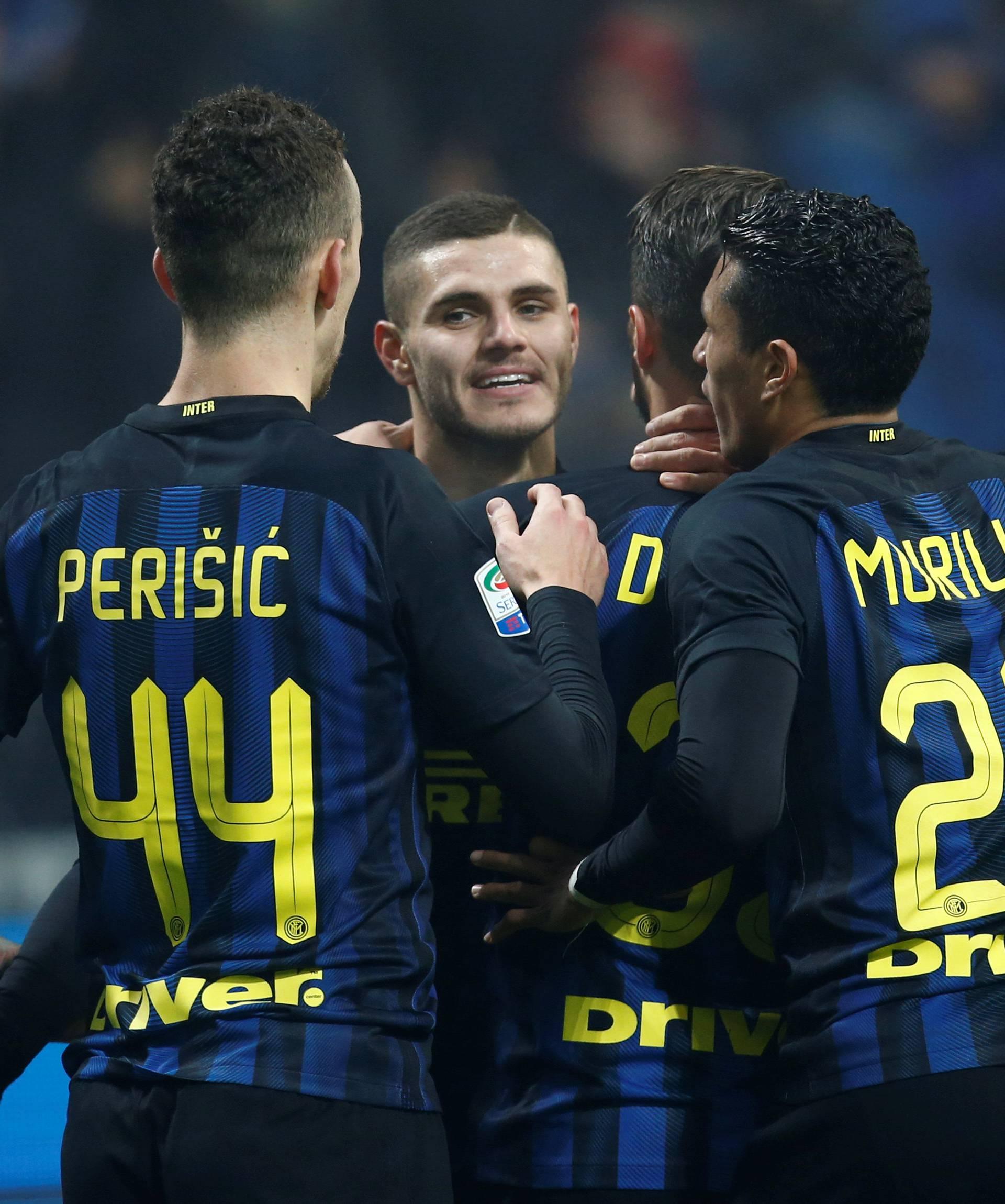 Football Soccer - Inter Milan v Lazio - Italian Serie A