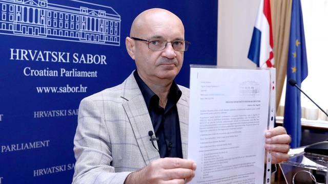 Zagreb: Goran Aleksić o kaznenoj prijavi protiv banaka osuđenih u kolektivnom slučaju Franak