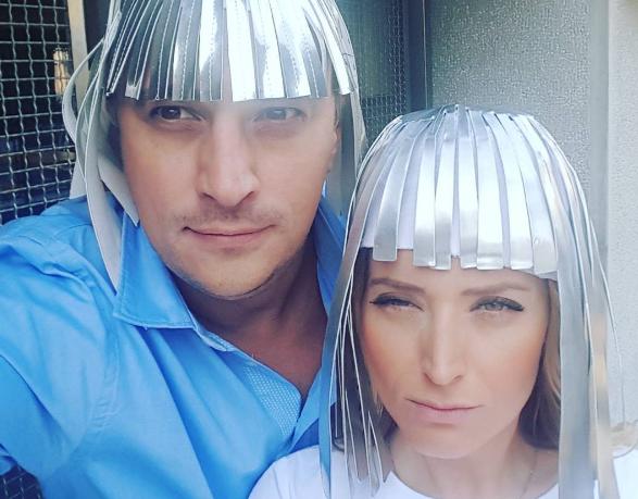 Snimaju novu sezonu? Andrija i Anđelka obučeni kao svemirci