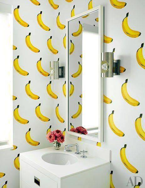 Tapete s finim voćnim mirisom trešanja, banana ili limuna...