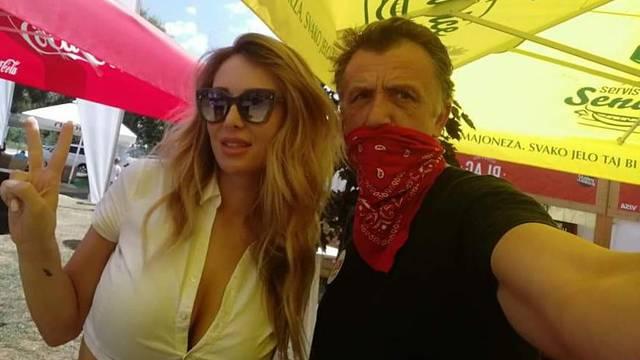 Na Chill&Grillu je uživala i Lidija Bačić, a pozirala je s Renmenom