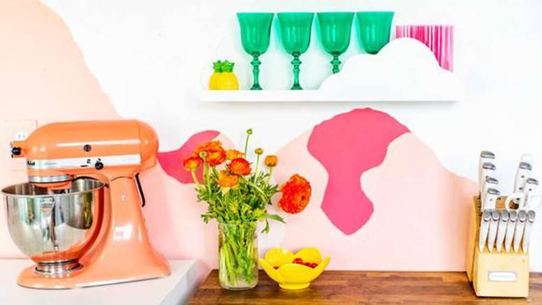 Novi trend: U kuhinji napravila živahni mural - izgleda savršeno