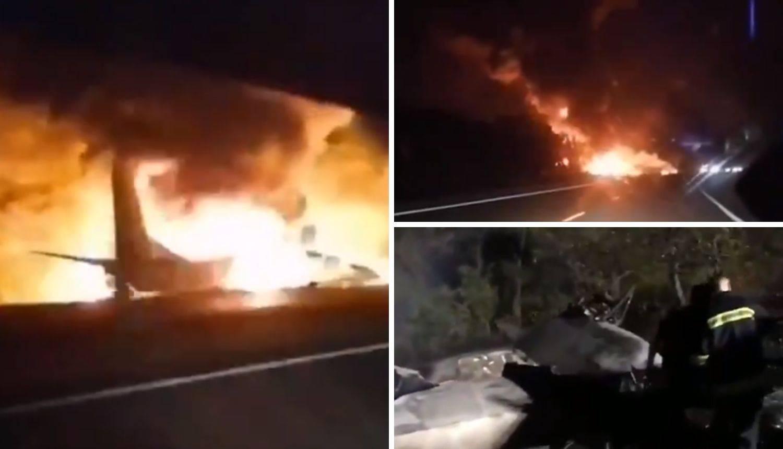 Pao vojni avion u Ukrajini: 22 je poginulo, dvoje u teškom stanju