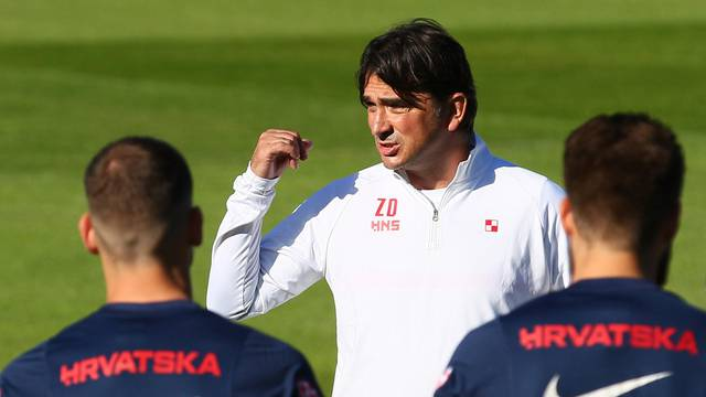 Euro 2020 - Croatia Training