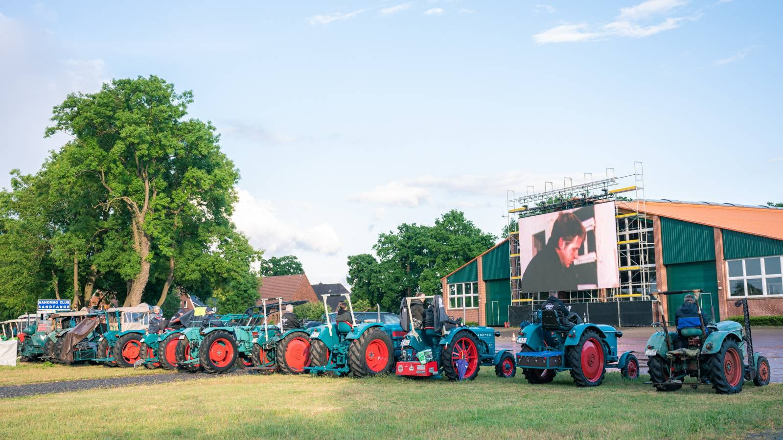 Cinema for tractor drivers
