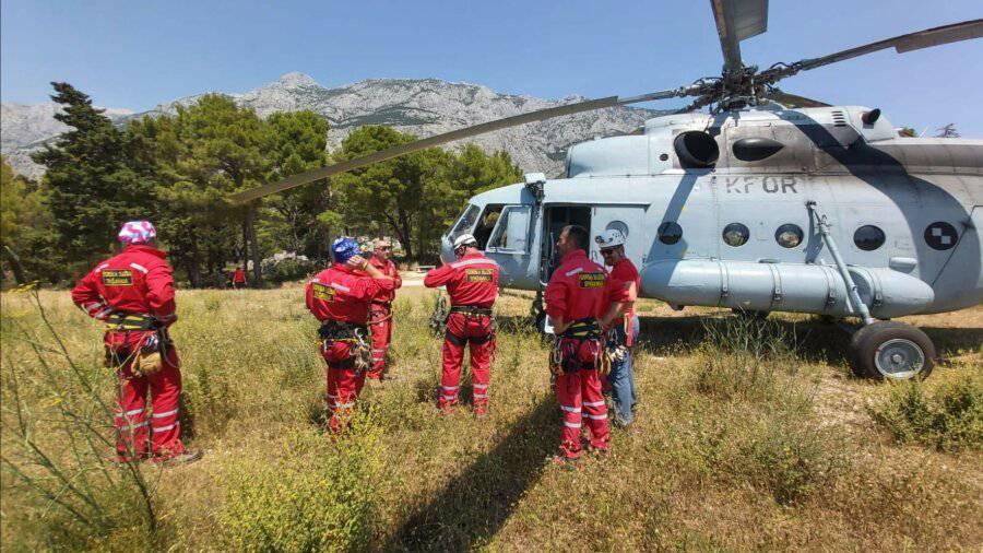Čehinja se izgubila, spašavali ju HGSS i vojska helikopterom