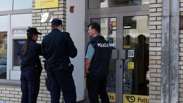 Razbojnik prijetio oružjem i opljačkao poslovnicu pošte
