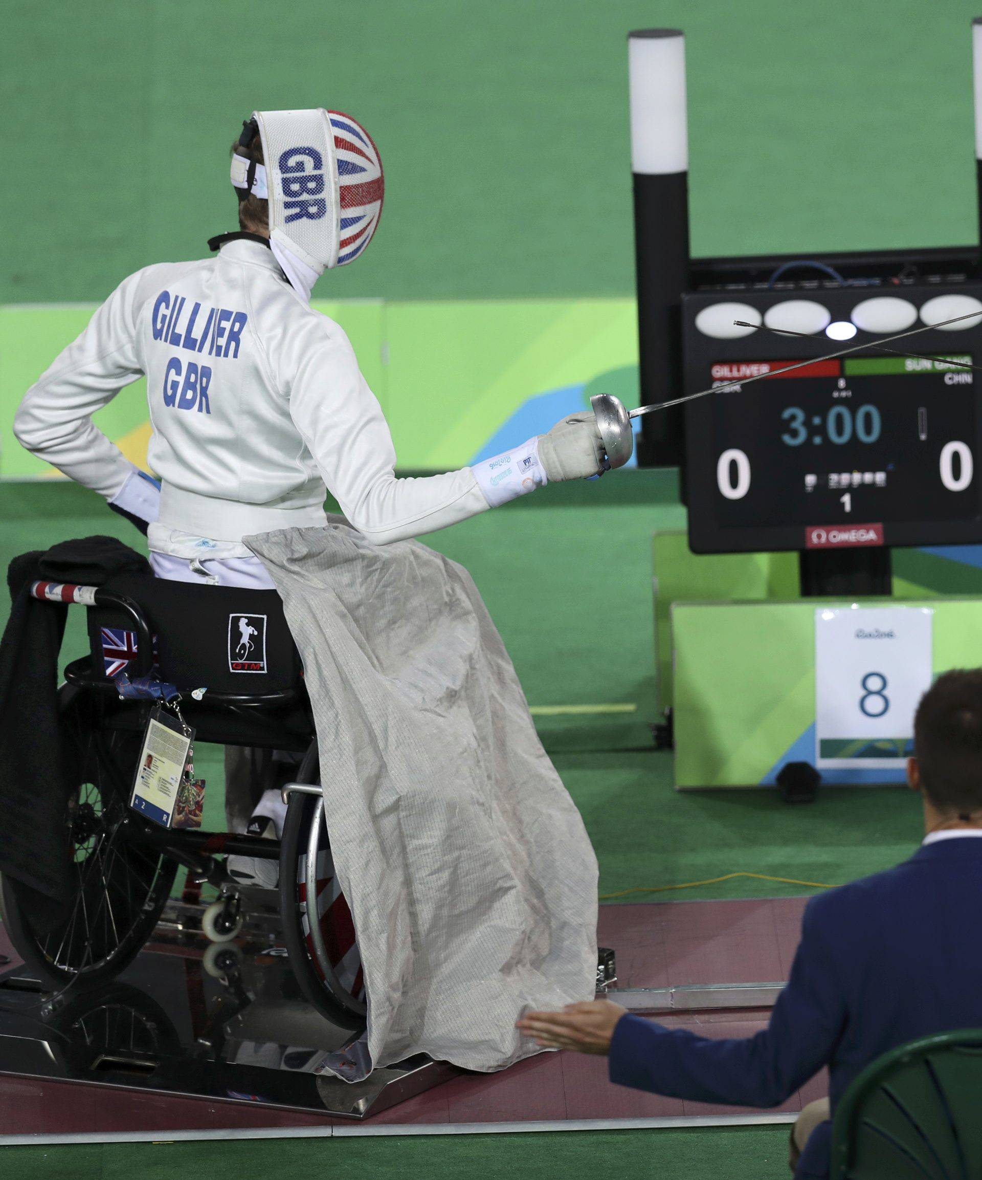 Wheelchair Fencing - Final - Men's Individual Epee Category A Gold Medal Final